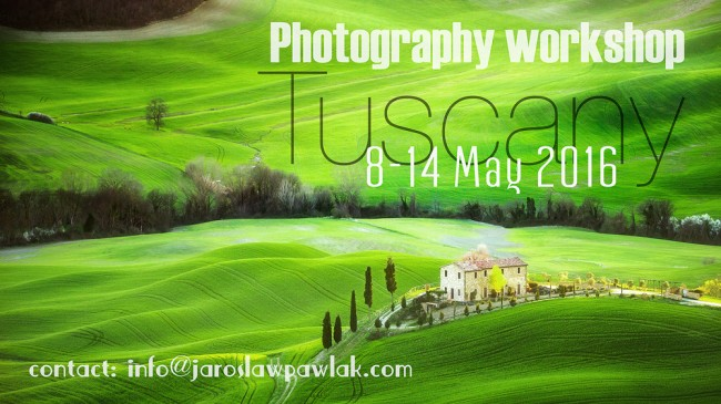 Tuscany landscape workshop 2016 with Jaroslaw Pawlak.