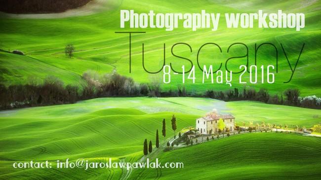 Tuscany landscape workshop 2016 with Jaroslaw Pawlak.