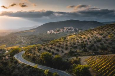 Montalcino, Landscape Tuscany photographer drone photo