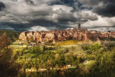 Pienza, Landscape Tuscany photographer drone photo