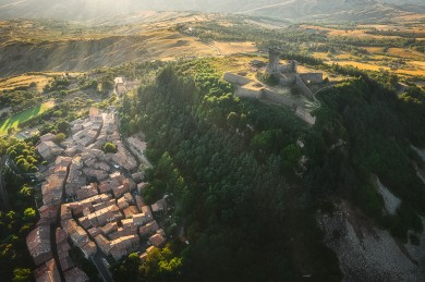 Radicofani Toscana , Landscape Tuscany photographer drone photo